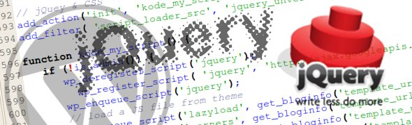 Includere jQuery in WordPress